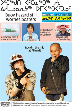 Headlines for Nunavut News North for July 11th 2011   Inuit Nunangat Stories   Scoop.it
