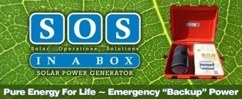 Emergency Grade 220volt UK SOS in a Box Solar Generator | The New Face to Sun Flare Systems Inc. | Scoop.it