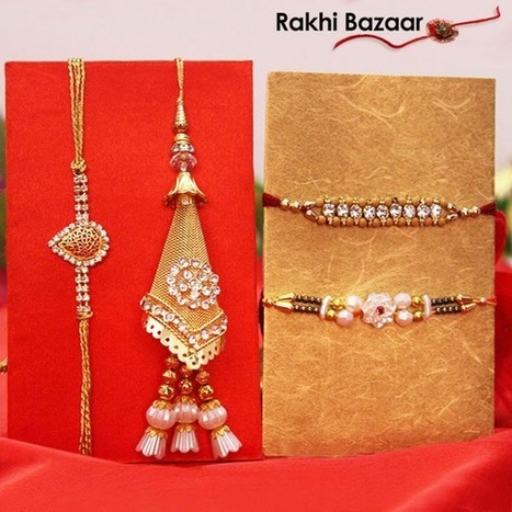 Gratify Your Bother with Some of the Most Gleaming Rakhis | Rakhi Sepcial | Scoop.it