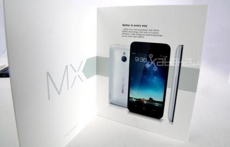 Meizu MX 4-core, cuatro núcleos y buen gusto desde China | Mobile Technology | Scoop.it