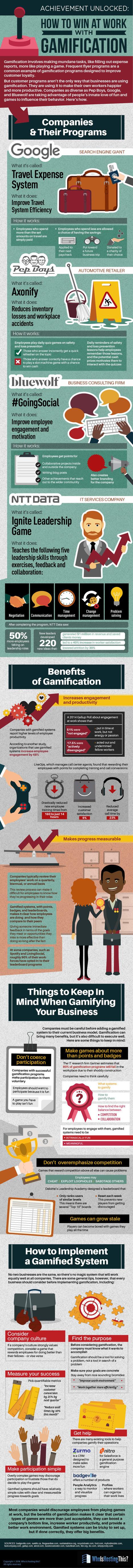 Cómo mejorar en el trabajo con Gamificación #infografia #infographic #rrhh   Sonina Darder   Scoop.it