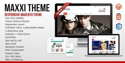 10 Exceptional Responsive Magento E-Commerce Themes | PSD Helpline | Scoop.it