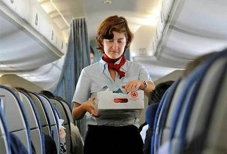 Air Canada gets good marks for serving healthy food   Canada.com   Food issues   Scoop.it