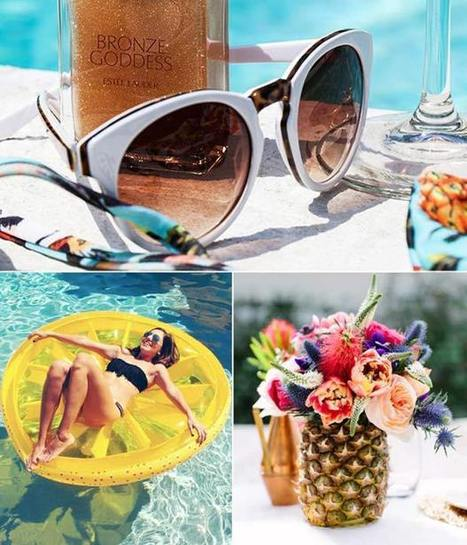5 Perfect Summer Themed Bridal Shower Ideas | Wedding Inspiration and Planning | Scoop.it