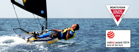 """Tiwal Reddot Award 2014 """"Best of the best""""   Tiwal , the inflatable sailing dinghy made in France   Scoop.it"""