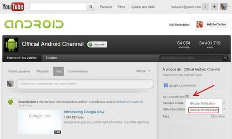 Envoyer un message privé ou une vidéo à un utilisateur YouTube | Time to Learn | Scoop.it