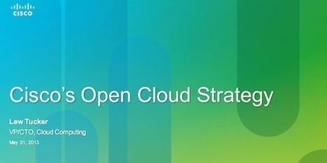 Cisco Lays Out Cloud Computing Strategy and Talks OpenDaylight | All Cloud | Scoop.it