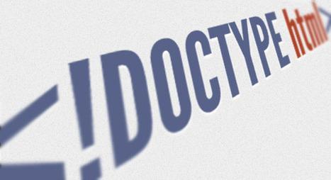 Document XHTML: La declaration doctype xhtml   Cours Informatique   Scoop.it