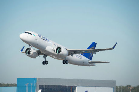 Air Astana Takes Delivery Of Its First A320neo | CASPIAN BUSINESS MONITOR | Scoop.it