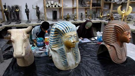 Egipto recuperó 44 antigüedades que fueron contrabandeadas a Francia | Egiptología | Scoop.it