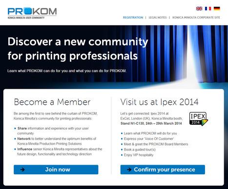 PROKOM : Discover a new communit for printing professionals | Les TIC dans l'Approche Commerciale de l'Imprimeur | Scoop.it