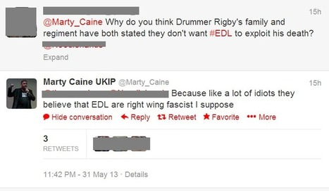 UKIP activist calls Drummer Lee Rigby's family 'idiots' | Welfare, Disability, Politics and People's Right's | Scoop.it