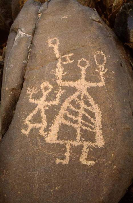 Some #AfricanRockArt depictions of warrior figures in #Libya could be over 5,000 years old! Via @britishmuseum | No. | Scoop.it