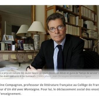 Les Inrocks - Antoine Compagnon tient des propos sexistes : une blogueuse féministe lui répond | Laisse parler les genres | Scoop.it
