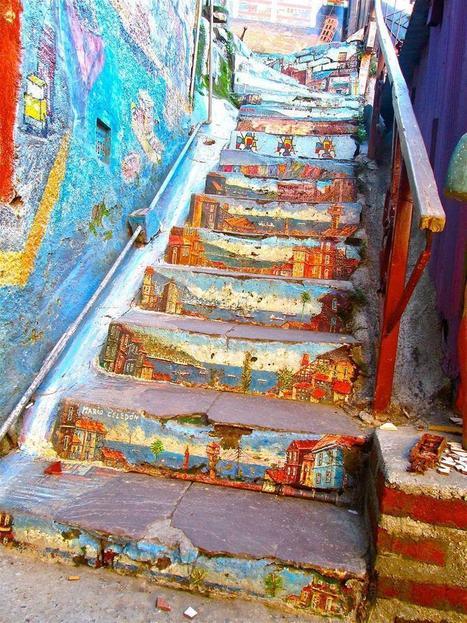 20 Outstanding Cities To See Awe-Inspiring Street Art. Woah! These Massive... en eAnswers | visure | Scoop.it