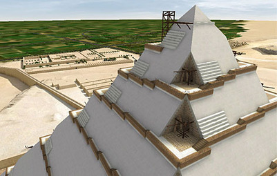 How the Egyptian pyramids were built: a new theory in 3D animation | Gavagai | Scoop.it