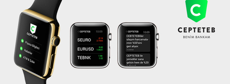 CEPTETEB Apple Watch Application | Banque et innovation | Scoop.it