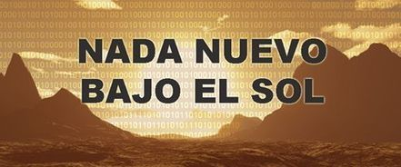 Nada nuevo bajo el sol | Ciencia ficción, fantasía y terror... en Hispanoamérica | Scoop.it