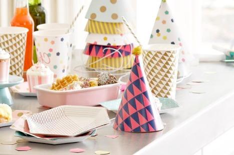 Concours | Sweet Party Day vous offre une décoration de table festive, chic et graphique ! | décoration & déco | Scoop.it