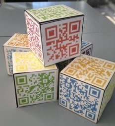 QR Codes are a fantastic tool to use in the classroom. QR Codes are abbreviated from Quick Response Code. They are a 2D barcode that can have a website, text, video, email address, voice thread and... | QR Code Art | Scoop.it