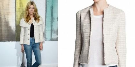 Clemence Poesy da Chanel in jeans e maglietta | Moda Donna - sfilate.it | Scoop.it