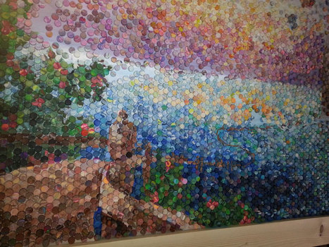 Artistic Mom Makes Amazing Mosaic with 10,000 'Dots' of Play-Doh | The Creative Commons | Scoop.it