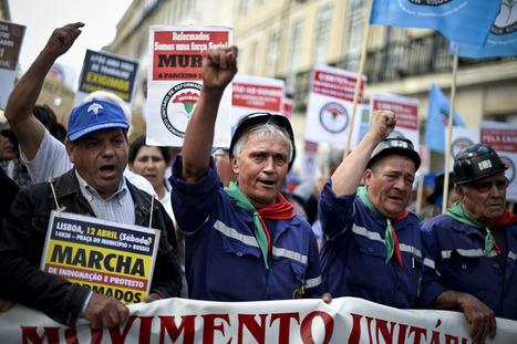15 mil pensionistas e reformados saíram à rua contra cortes | Eleições Europeias 2014 | Scoop.it