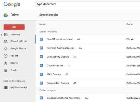 How to Organize Your Google Drive Like a Pro | Middle school ELA - 6 th grade | Scoop.it