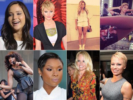 Taking The Plunge: Celebs Who Chopped Off Their Hair in 2013 - VH1 | gossip | Scoop.it