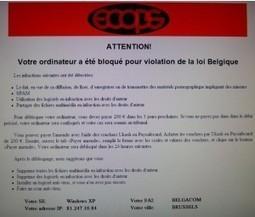 Un virus utilisant l'image de la police sévit en Belgique | Belgitude | Scoop.it