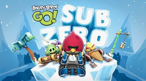Play Angry Birds GO Sub Zero   Angry Birds Go!   Play Candy Crush Games   Scoop.it