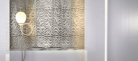 Le carrelage 3D pour un intérieur design | Carrelage : tous les conseils et idées déco | Scoop.it