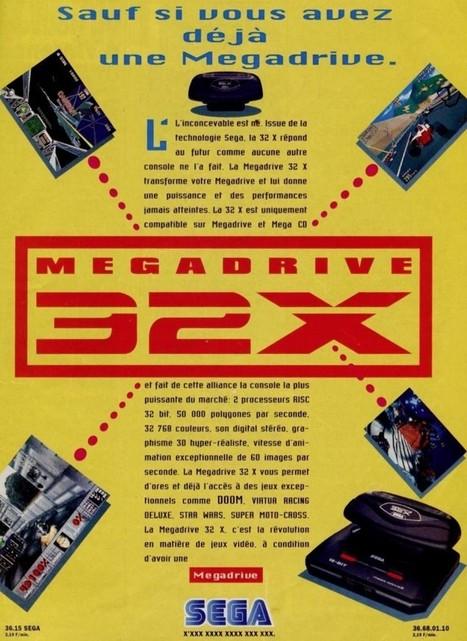 Megadrive 32 X : 18 ans déjà!   HiddenTavern   Scoop.it