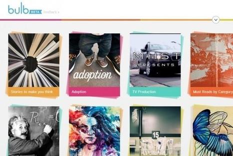 Bulb, para crear, consultar y compartir artículos sobre temas específicos | Uf con las redes sociales | Scoop.it