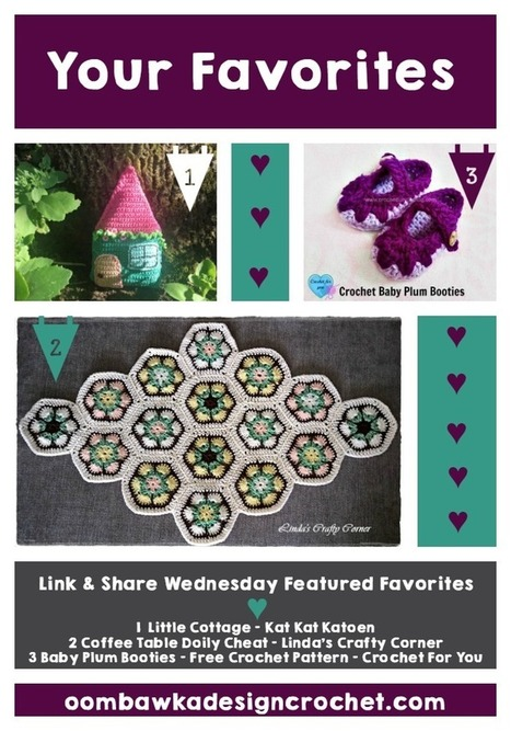 Your Favorites - Link and Share Wednesday | Just Crochet | Scoop.it
