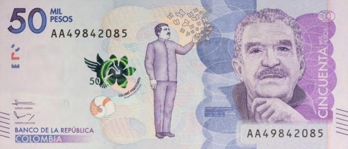 Gabriel Garcia Marquez : un nouveau billet colombien à l'effigie de l'auteur | Actualitté | Kiosque du monde : Amériques | Scoop.it