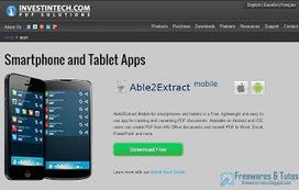 3 applications gratuites pour convertir vos documents bureautique directement sur smartphones ou tablettes | netnavig | Scoop.it