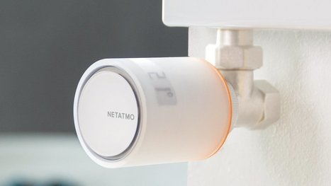Philippe Starck designs voice controlled radiator valves for Netatmo   Home Automation   Scoop.it