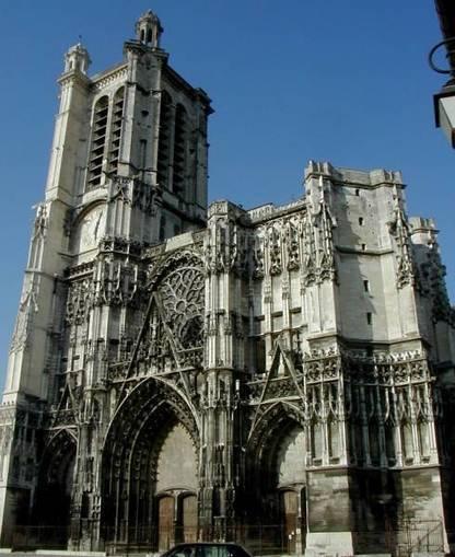 Troyes Cathedral (Troyes) | Structurae | Desde las Catacumbas hasta las Catedrales Medievales | Scoop.it