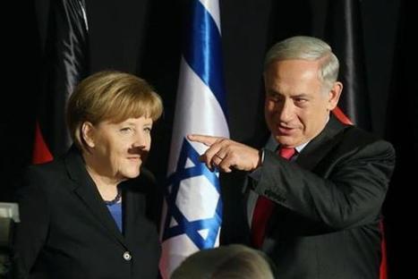 Quand Angela Merkel porte la moustache d'Hitler | Ouverture sur le monde | Scoop.it
