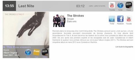 API Music Story Pro – Cas d'utilisation: habillage d'un flux radio en temps réel | A Kind Of Music Story | Scoop.it
