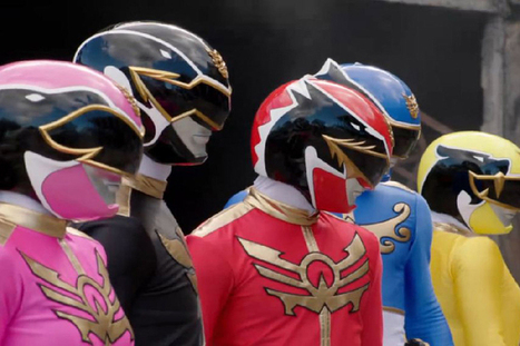 Lionsgate takes Power Rangers to the big screen | Smart Media | Scoop.it