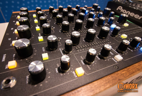 FIRST LOOK: Rane MP2015 — Rotary is back! | DJWORX | DJing | Scoop.it