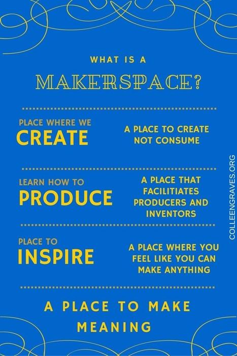 What is a Makerspace? via Colleen Graves | EduTek | Scoop.it