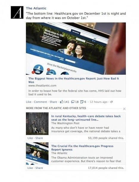 Nouveaux Changements de l'ALGORITHME de Facebook : l'Importance des Liens | Emarketinglicious | Machines Pensantes | Scoop.it