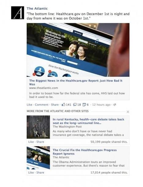 Nouveaux Changements de l'ALGORITHME de Facebook : l'Importance des Liens | Emarketinglicious | Machines Pensantes | Scoop.it