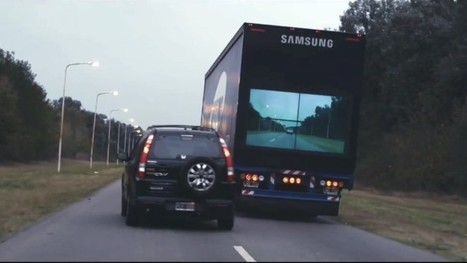 Samsung working to make trucks 'transparent' | Real Estate Plus+ Daily News | Scoop.it
