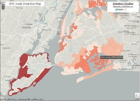Hurricane Sandy Maps with Open Data and GIS Publication Platforms - GIS Lounge | Cartography and Digital Mapping | Scoop.it