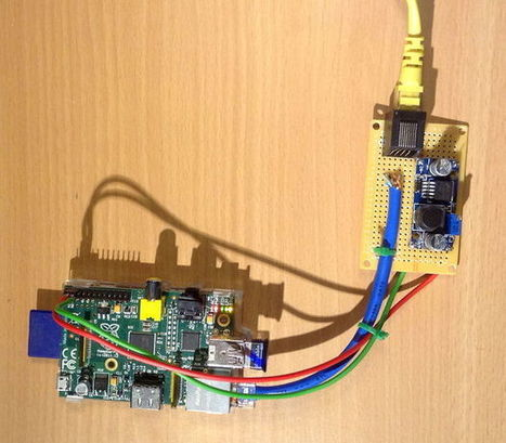 PiPoE - powering a Raspberry Pi over Ethernet   Raspberry Pi   Scoop.it