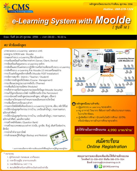 e-Learning with Moodle 2.5 | Open Research & Learning | Scoop.it